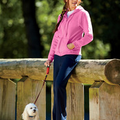 Gildan Heavy Blend™ Ladies' Full-Zip Hooded Sweatshirt