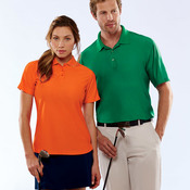 UltraClub® Men's Tall Cool & Dry Elite Performance Polo