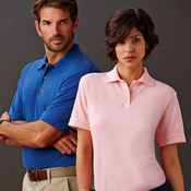 UltraClub Adult Tall Classic Piqué Polo