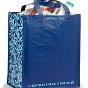 Laminated 100% Recycled Shopper