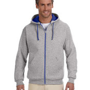 CONTRACT 8 oz., 50/50 NuBlend® Contrast Full-Zip Hood