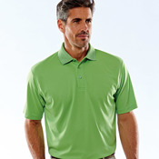UltraClub® Men's Cool & Dry Mesh Piqué Polo