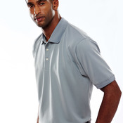 UltraClub® Men's Platinum Performance Piqué Polo with TempControl Technology