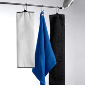 H UltraClub Large Velour Golf Towel with Grommet