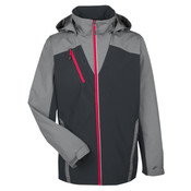 Men's Embark Interactive Colorblock Shell with Reflective Printed Panels