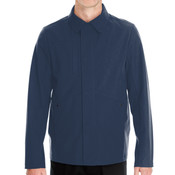 Men's Edge Soft Shell Jacket with Fold-Down Collar