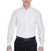 Men's Tall Classic Wrinkle-Resistant Long-Sleeve Oxford