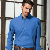 UltraClub Men's Performance Poplin