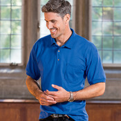 DryBlend® Adult Jersey Polo with Pocket