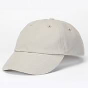 Solid Low-Profile Brushed Twill Cap