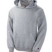 Youth Double Dry Eco® Hooded Pullover Fleece