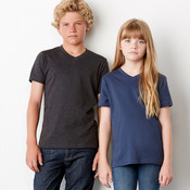 Youth Jersey Short-Sleeve V-Neck Tee