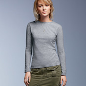 Ladies' Lightweight Fitted Long-Sleeve Tee