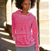 J.America Ladies' Zen Hooded Fleece