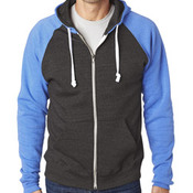 CONTRACT Adult Color Block Full Zip Hoodie - you supply