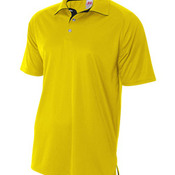 Adult Interlock Contrast Polo