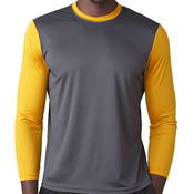 Adult Baseball Tee with 3/4 Sleeves