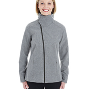 Ladies' Edge Soft Shell Jacket with Convertible Collar