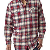 Men's  Yarn-Dyed Flannel Shirt