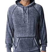 J.America Adult Vintage Zen Hooded Pullover Fleece