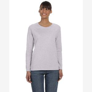 Ladies'   Heavy Cotton™ 5.3 oz. Long-Sleeve T-Shirt Thumbnail