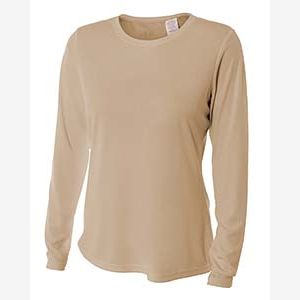 Ladies' Long Sleeve Cooling Performance Crew Shirt Thumbnail