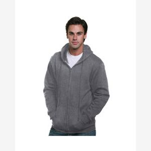 Adult  9.5oz., 80% cotton/20% polyester Full-Zip Hooded Sweatshirt Thumbnail