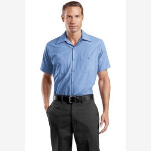 Short Sleeve Industrial Work Shirt Thumbnail
