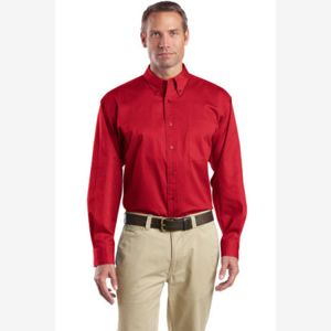 Long Sleeve SuperPro ™ Twill Shirt Thumbnail