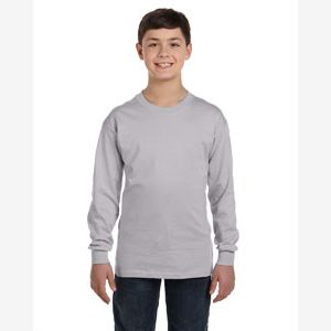 Youth  Heavy Cotton™ 5.3 oz. Long-Sleeve T-Shirt Thumbnail