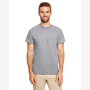 Adult 5.5 oz., 50/50 Pocket T-Shirt Thumbnail