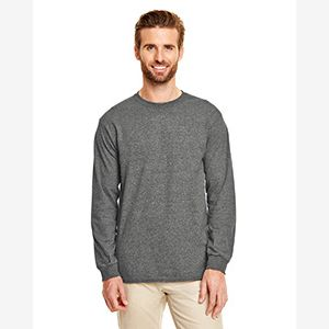 Adult 5.5 oz., 50/50 Long-Sleeve T-Shirt Thumbnail