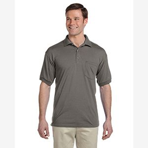 Adult 6 oz., 50/50 Jersey Polo with Pocket Thumbnail