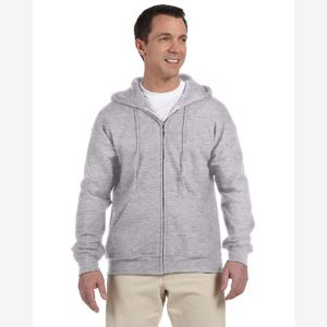 Adult DryBlend® Adult 9 oz., 50/50 Full-Zip Hood Thumbnail