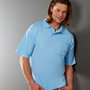 Adult SpotShield™ Jersey Pocket Polo Thumbnail