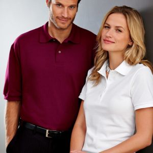 Ladies' Ring-Spun Cotton Piqué Polo Thumbnail