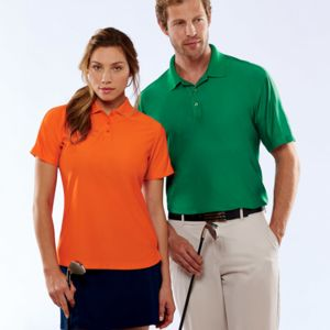 UltraClub® Men's Tall Cool & Dry Elite Performance Polo Thumbnail