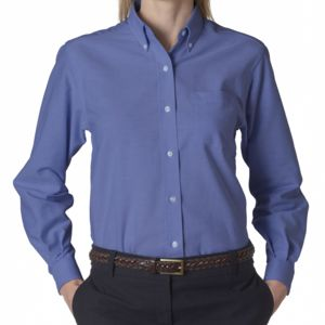 Ladies' Classic Long-Sleeve Oxford Thumbnail