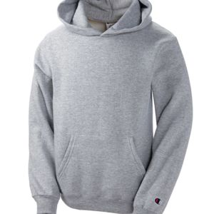 Youth Double Dry Eco® Hooded Pullover Fleece Thumbnail