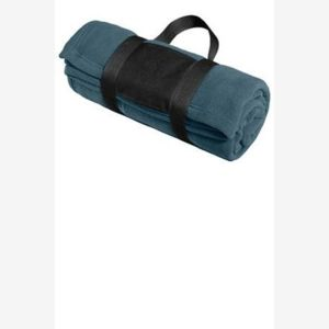 Fleece Blanket with Carrying Strap Thumbnail