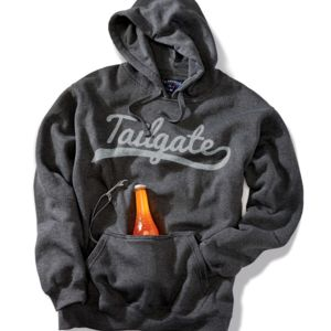 J.America Adult Tailgate Hooded Fleece with Bottle Opener Thumbnail