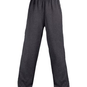 Adult Pro Heathered Fleece Pant With Side Pockets Thumbnail