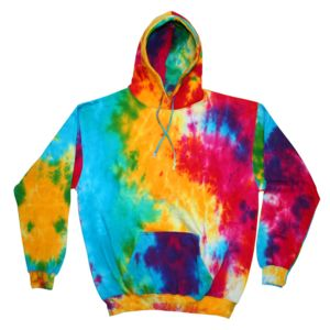 Youth Tie-Dyed Pullover Hoodie Thumbnail