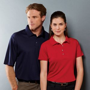Ladies' JERZEES® DRI-POWER® SPORT Closed-Hole Mesh Polo Thumbnail