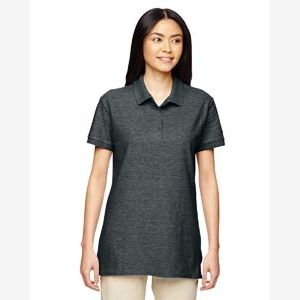 Ladies'  Premium Cotton® Ladies' 6.6 oz. Double Piqué Polo Thumbnail