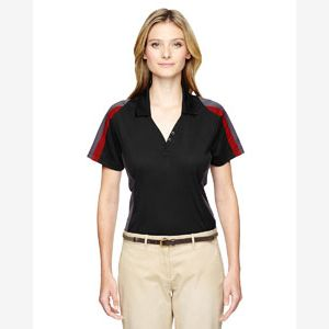 Ladies' Eperformance™ Strike Colorblock Snag Protection Polo Thumbnail