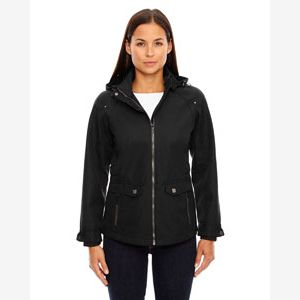 Ladies' Uptown Three-Layer Light Bonded City Textured Soft Shell Jacket Thumbnail