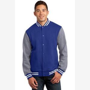 Fleece Letterman Jacket Thumbnail