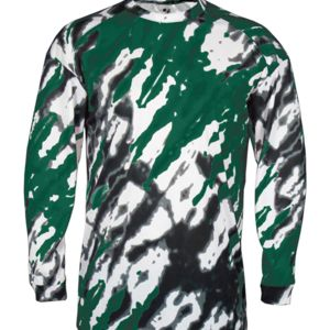 Adult Tie Dri Sublimated Long Sleeve Tee Thumbnail