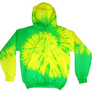 Youth Fluorescent Tie-Dyed Pullover Hoodie Thumbnail